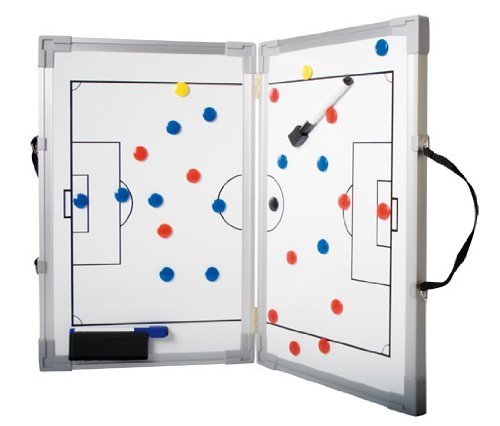 b+d Tableau de tactique aimanté pliable pour le football 30 x 45 cm