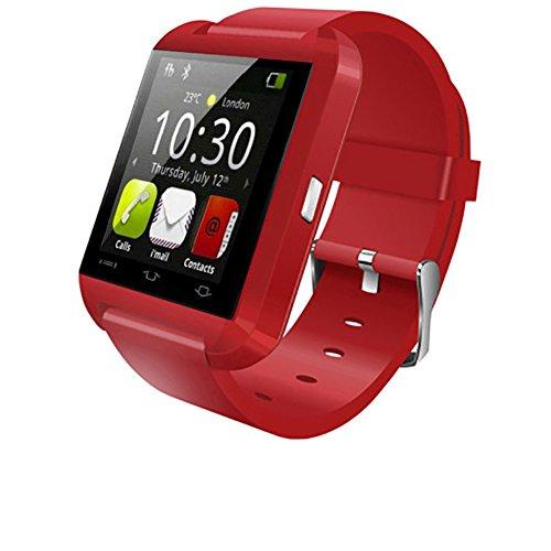 Bluetooth smart sportuhr,Touch Screen smartwatch Telefon entsperrt Uhr Handy wasserdicht schrittzähler,Männer-Frauen-Kinder-Jungen-Armbanduhr-C