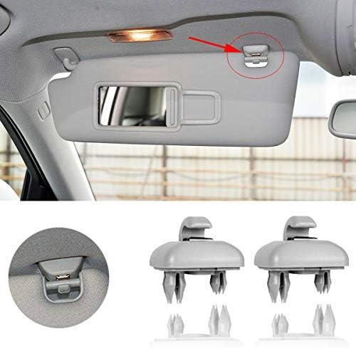 Porpor Booya 2 Pack Interior Sun Visor Hook Clip Bracket for A1 A3 A4 A5 Q3 Q5 OEM 8E0 857 562 product image