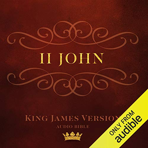 Book of II John audiobook cover art