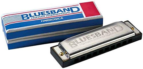 Bluesband Harmonica by Hohner International - Key of C - Instructions Included