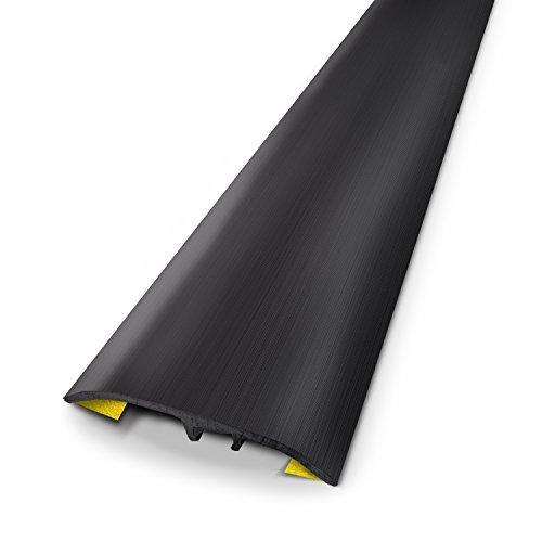 3M 631020D Seuil universel Alu Brosse 83 cm x 3,7 cm, Noir