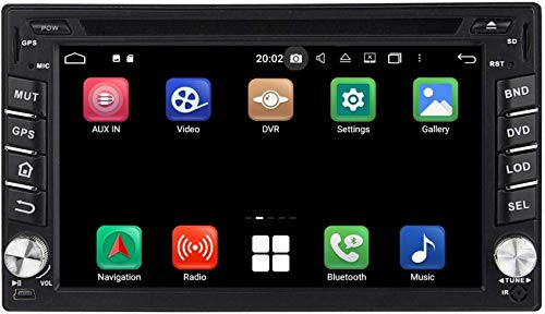 Pantalla táctil de 6.2 Pulgadas Radio de Coche Android 10.0 OS Compatible con Nissan Versa (2004-2010), Reproductor de DVD Bluetooth Dab + Unidad Principal de Radio