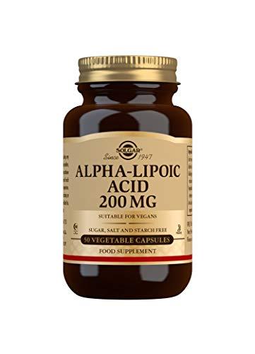 Solgar Alpha Lipoic Acid 200 mg Vegetable Capsules - Pack of 50