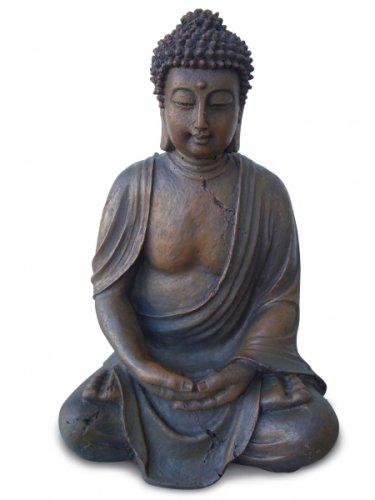 Geschenkbox Statue Buddha 40 cm mit zusätzlichem passendem Schlüsselversteck