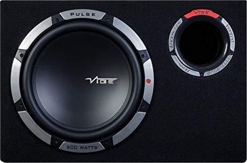 VIBE Pulse Bass-Gehäuse, 30,5 cm, Schwarz