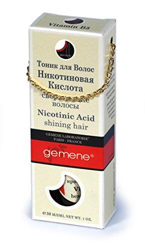 DNC Nicotinic Acid (B3) - Shining Hair, 30 ml, spray