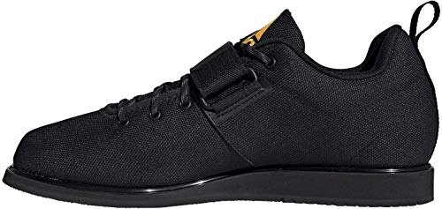 adidas Powerlift 4, Zapatillas Halterofilia para Hombre, NEGBÁS/NEGBÁS/Dorsol, 43 1/3 EU