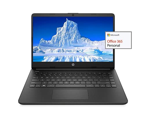 2021 Newest HP 14' HD Laptop Light-Weight, AMD 3020e(Up to 2.6GHz), 16GB RAM, 512GB SSD + 64GB eMMC, 1 Year Office 365, WiFi, Bluetooth 5, USB Type-A&C, HDMI, Webcam, Win10, w/Ghost Manta Accessories