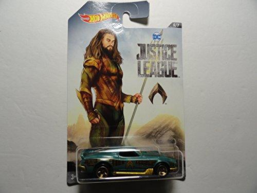 *Hot Wheels Justice League Aquaman Blvd Bruiser Die Cast Vehicle