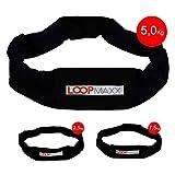 LOOPMAXX Workout Loop - Fitnessband Hometrainer Fitness Damen und Herren 5 Kg inkl. eBook,...