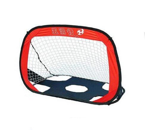 Doppio uso Kid's Pop-Up Soccer Goal rete con borsa per bambini Junior-Pallone da calcio per allenamento sportivo da gioco Pop-Up, gli obiettivi per interni ed esterni
