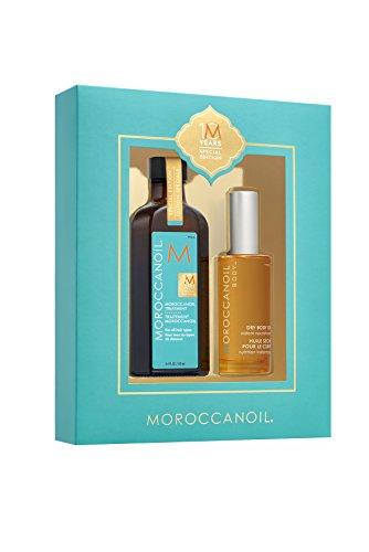 Moroccanoil Geschenkset, 100 ml Behandlung + 50 ml trockenes Öl
