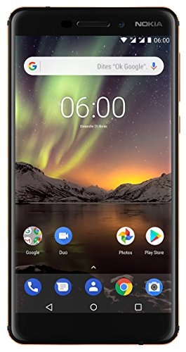 "Nokia 6.1 14 cm (5.5"") 3 GB 32 GB Doppia SIM 4G Nero 3000 mAh"