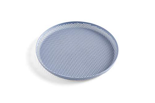 レックスポットデザインのHAYミシン目トレイ(ライトブルー、26.5 26 cm)