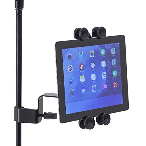 Tabstand-200 Supporto Universale Per Tablet/iPad Con Aggancio Per Asta Microfono o Leggio