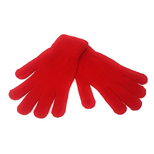 Adults Magic Winter Gloves [Red]
