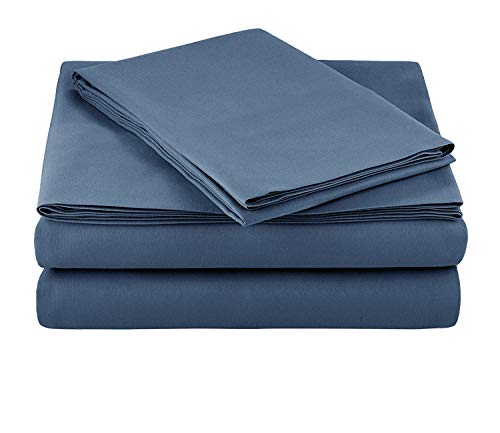 4-Piece Flannel Sheet Set-Soft & Comfortable...