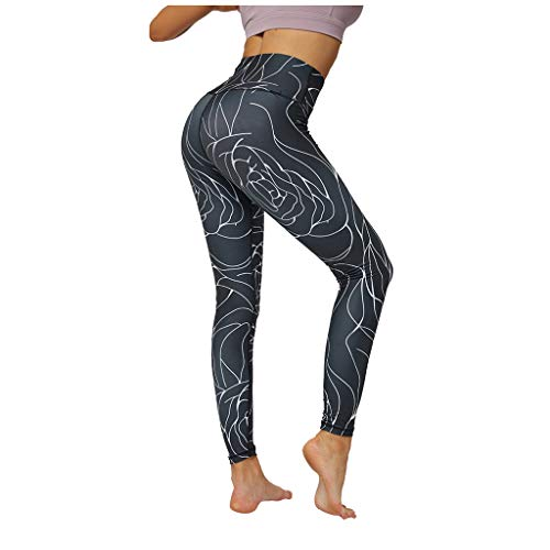 Centory High Waisted Leggings for Women Stretch Tummy Control Workout Running Yoga Pants Reg&Plus Size