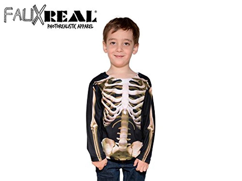 酸化物知的パーツFaux Real Toddler Skeleton スケルトン 13486 仮装 コスプレ 子供服 4T(約17kg迄)
