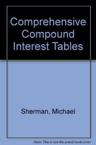 Comprehensive Compound Interest Tables