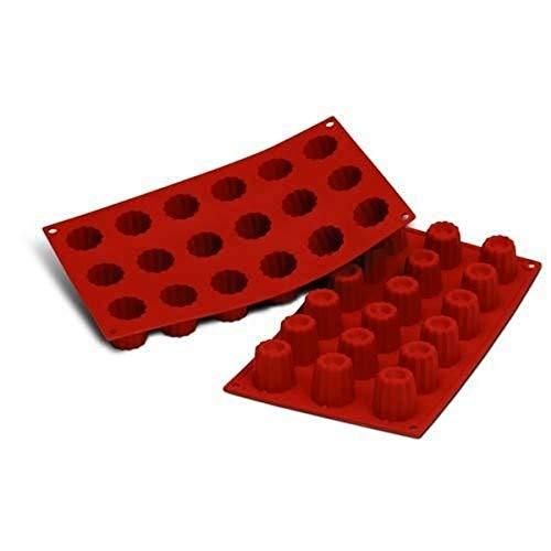 silikomart SF033 Moules à Forme spécifique, Silicone, Rouge