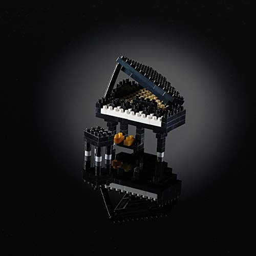 Brixies 410176 Klavier (FLÜGEL) SCHWARZ, Mehrfarbig