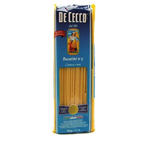 De Cecco Bucatini Nr. 15, 1er Pack (1 x 500 g)