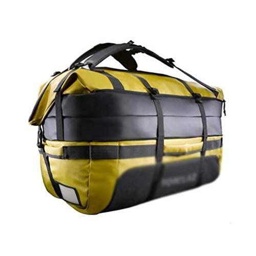 ZWW Mochila de Gran Capacidad Multifuncional, Bolso de montañismo portátil de Viaje al Aire Libre, Bolsa de Equipos al Aire Libre (Color : 80L Ginger)