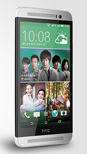 "HTC One E8 M8Sw 5.0"" Android 4.4 Quad Core ROM 16GB Dual Sim International Multi-language Unlocked 4G LTE Smartphone Color White- International Version No Warranty"