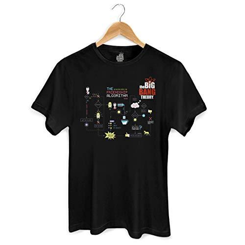 Camiseta The Big Bang Theory Friendship Algorithm