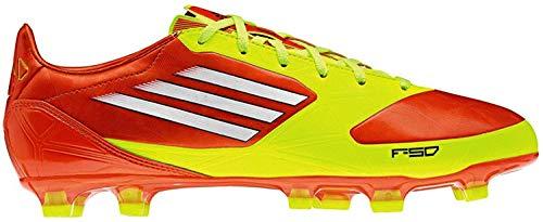 adidas, Scarpe da calcio uomo Multicolore Gelb-Rot 38 2/3
