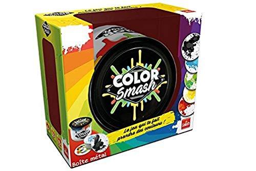 Goliath - Color Smash - Jeu d'ambiance - à partir de 6 ans- Jeu de société - Jeu de rapidité