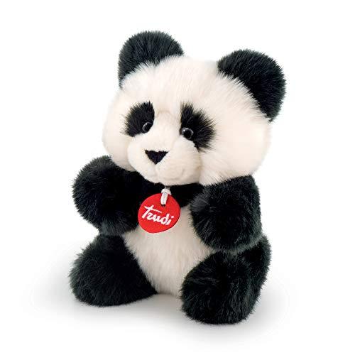 Trudi Plüsch-Spielzeug Panda, 24cm, Weiß / Schwarz