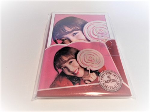 韓国 K-POP ☆TWICE トゥワイス ナヨン☆POST CARD SET ポストカードセット 16枚入り