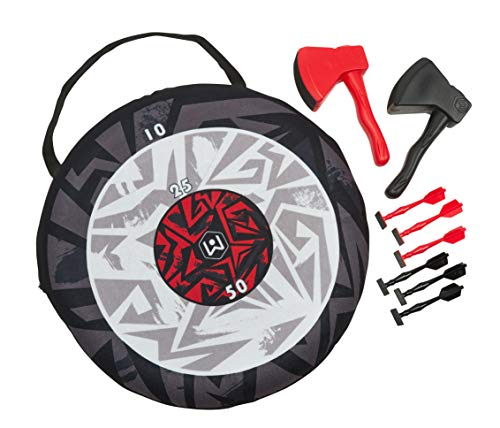 Wicked Big Sports Portable Axe Toss and Darts 2 in 1 Game 99982 Only $18.63 (Retail $29.99)