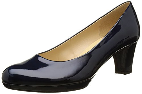Gabor Shoes Fashion, Damen Pumps, Blau (marine  LFS natur  76), 40.5 EU (7 UK)