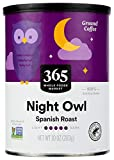 365 by Whole Foods Market, Ground Coffee, Night Owl - Spanish Roast (Canister), 10 Ounce