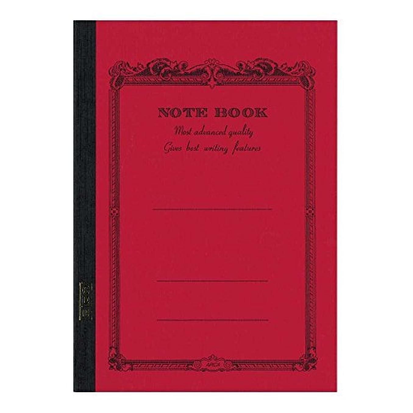 アピカ CDノート 赤 N CD15RN 00894205【まとめ買い10冊セット】