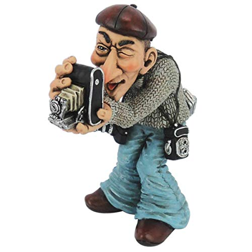 Funny Job - Fotograf mit Kameras