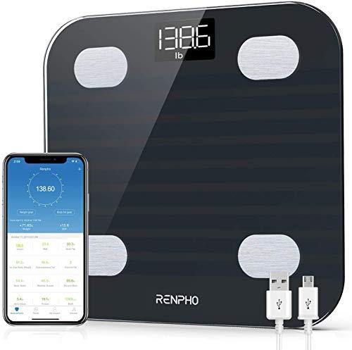 Báscula Digital Bluetooth  marca RENPHO