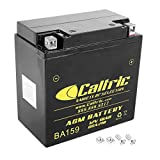 Caltric Agm Battery Compatible With Yamaha...