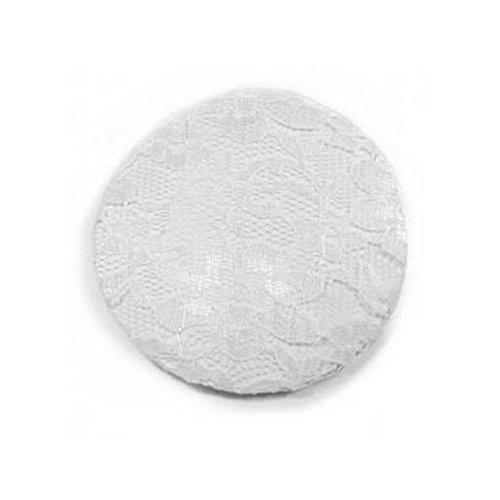 Accessoire Cheveux : Filet à chignon Textile Blanc Imitation Dentelle