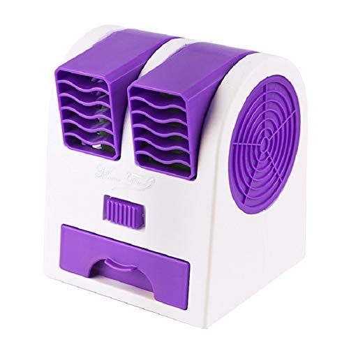HAOT Portable Bladeless Fan Bladeless Handheld Fan Cooling Tower Fan Smart Tower Fan Bladeless Fans Cooling Quiet Electric Tower Fan Best Tower Fan Purple