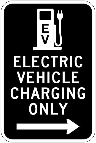STOPSignsAndMore Max 76% OFF - Electric All items in the store Vehicle Charging Only Right A Sign