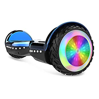"""City Cruiser, 6.5"""" Scooter Hover Board with UL2272 Certified Wheels LED Lights,Blue"""