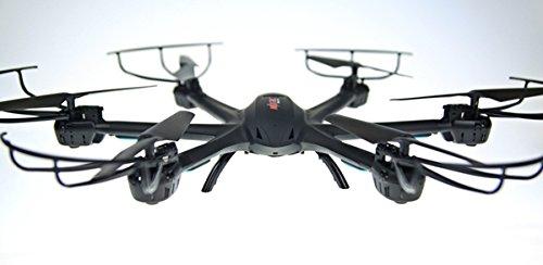 NCC® MJX RC Hexacopter x600V FPV Transferencia 2.4GHz giroscopio de 6ejes Salto Función y headless Mode