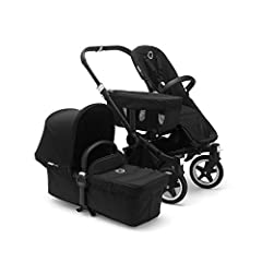 Effortless Expansion: This stroller accommodates infants (w/ included bassinet) and toddlers up to 50 lbs and transforms with your growing family in single or Mono mode, or as a twin stroller in Duo mode with the extension set (sold separately). Spac...