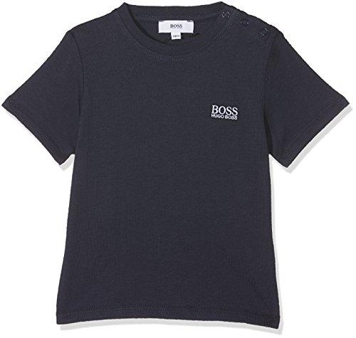 BOSS tee-Shirt Manches Courtes Camiseta, Azul (Bleu Cargo 849), 18-24 Meses (Talla...
