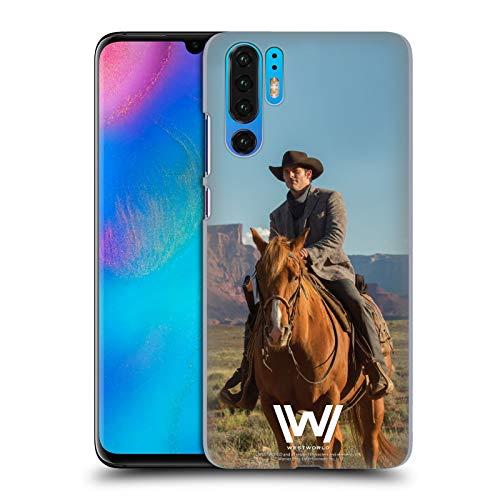 Head Case Designs Offizielle Westworld Teddy Flood Darsteller Harte Rueckseiten Handyhülle Hülle Huelle kompatibel mit Huawei P30 Pro